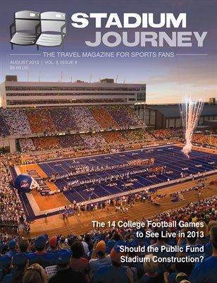 Stadium Journey Magazine, Vol. 3 Issue 8