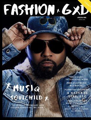 """Fashion Gxd Magazine """"Spring 2020 Volume 1"""" (Musiq SoulChild )"""