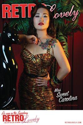 Retro Lovely No.166 – Miss Sweet Carolina Cover Poster