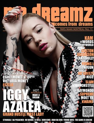 FALL ISSUE MR DREAMZ MAG LIGHT FT IGGY AZALEA