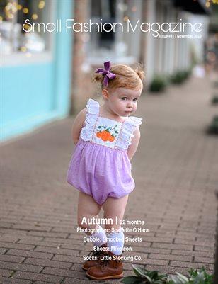 Small Fashion Magazine Issue #31