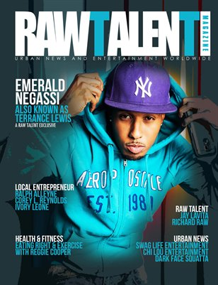 Raw Talent Magazine Issue #10