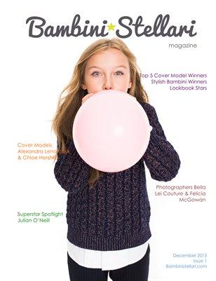 Bambini Stellari Magazine Cover Alexandra