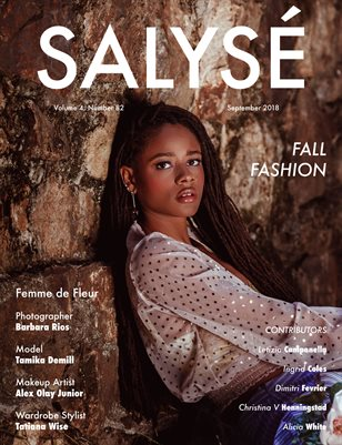 SALYSÉ Magazine | Vol 4 : No 82 | September 2018