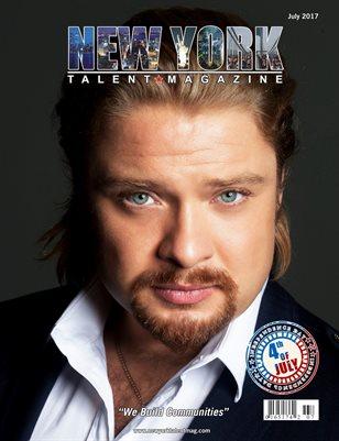 New York Talent Magazine July 2017 Edition