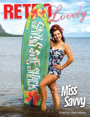 Retro Lovely No.136 – Miss Savvy Cover