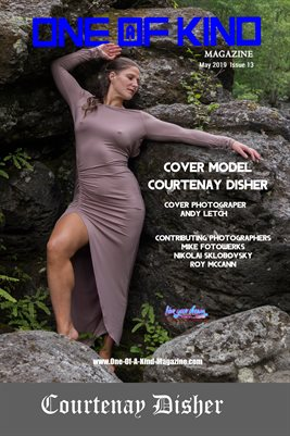 ONE OF A KIND MAGAZINE COVER POSTER- Cover Model Courtenay Disher - May 2019