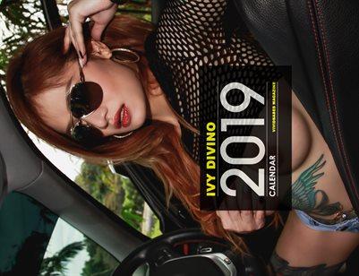 Vividbabes Mag 2019 Calendar - Ivy Divino