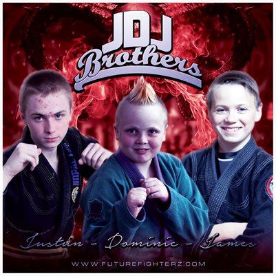 JDJ Brothers Comp Card/Mini Poster 8x8