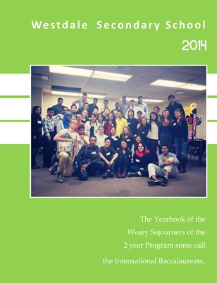 Westdale IB Yearbook 2014
