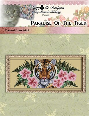 Paradise Of The Tiger Cross Stitch Pattern