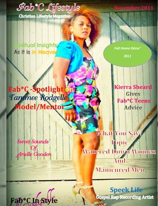 Fab*C Lifestyle Magazine Nov 2011
