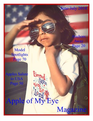 Apple of My Eye Magazine Summer Issue 2014