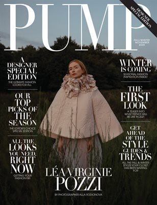 Pump Magazine | November 2020 | The Fashion & Beauty Issue | Vol.3