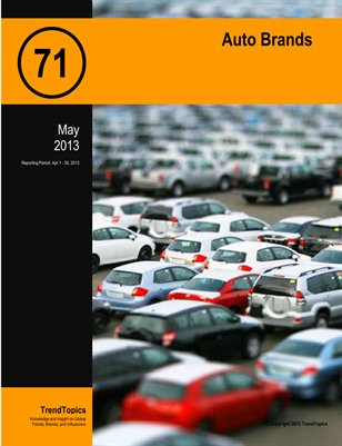 TrendSignal™ Report: Auto Brands (May 2013)