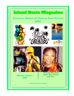 Island Beats Magazine Exclusive Edition of The Jamaica Rum Festival 2020
