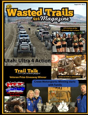 Wasted Trails 4x4 magazine   Vol 4