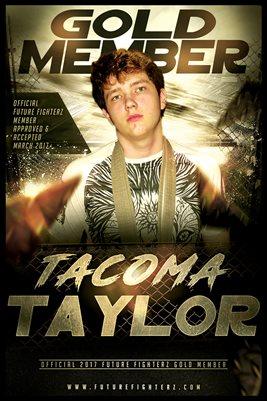 Tacoma Taylor Gold Member/Diploma Poster