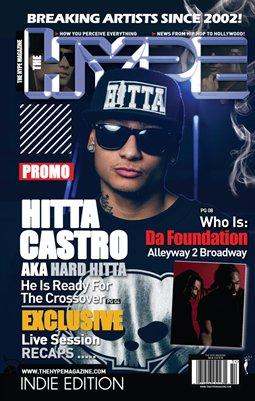 The Hype Magazine - Promo Issue w/ Hitta Castro aka Harh Hitta