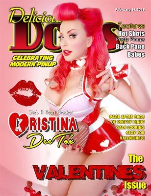 Delicious Dolls February 2015 Valentines Christina Deetox
