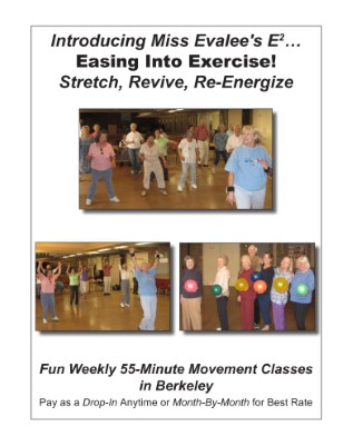 Ease Into Exercise Dancersize 4-panel 10-24-11