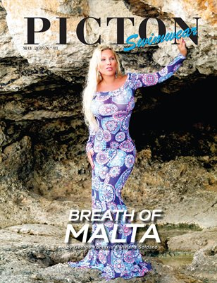 Picton Magazine May 2019 Swimwear N93 Cover 2