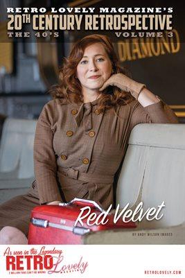 20th Century Retrospective – The 40's - Red Velvet Cover Poster