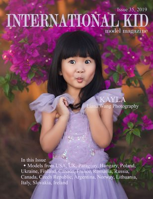 International Kid Model Magazine Issue #35