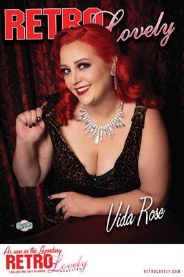 Vida Rose Cover Poster