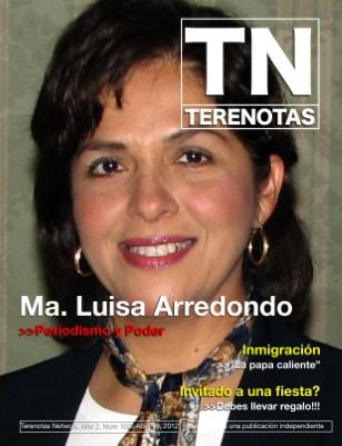 Maria Luisa Arredondo... Periodismo y Poder