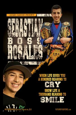 Sebastian Rosales Smile Poster