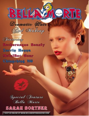 Issue #9 Dramatic Hair and Makeup