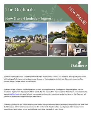 Oakmere Home Advisors 30 Years of developing ideal homes