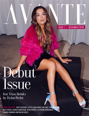 Avante Debut Issue: Tessa Brooks Cover