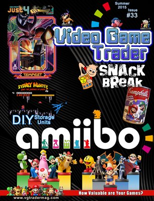 Video Game Trader #33 (Summer 2015) w/ Price Guide