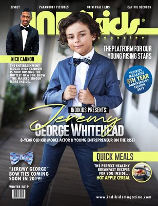 INDIKIDS WINTER 2019 ISSUE JEREMY COVER