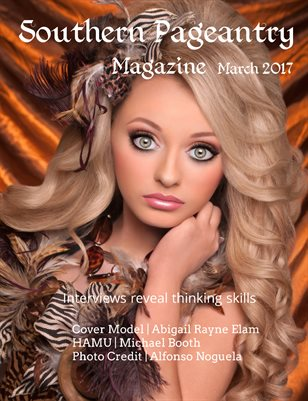 Southern Pageantry Magazine, March 2017
