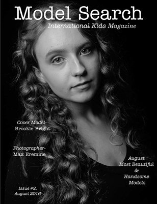 Issue #2 PDF w/Print Model Search International Kids Magazine