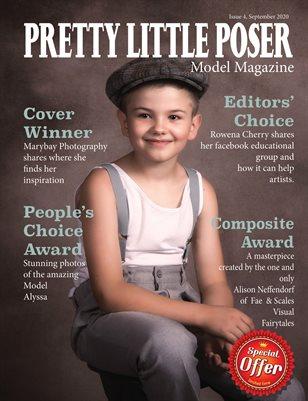 Pretty Little Poser Model Magazine - September 2020 - Issue 4