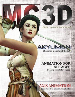 MavCore 3D Animation Magazine - Issue #1