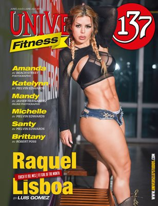UNIVERSE 137 MAGAZINE FITNESS EDITION June-July 2017