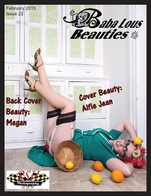 Baba Lous Beauties- Anything Pin Up Issue 22: February 2015