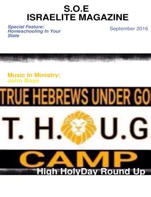 S.O.E Israelite Magazine 2nd Edition