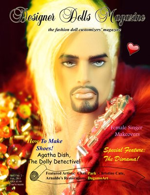 Designer Dolls Magazine - February 2013