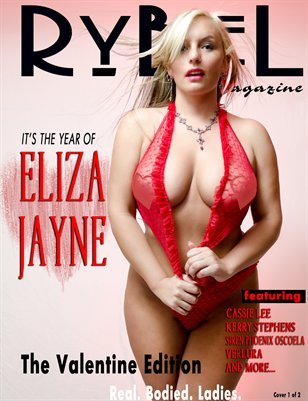 Rybel Magazine Valentine Edition Eliza Cover