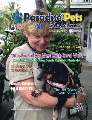 Paradise Pets Magazine, Key West Vol. 1 Issue 1