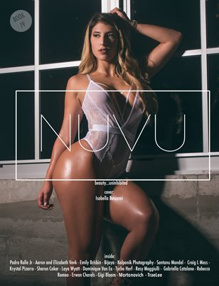 NUVU Magazine- Book 19 ft. Isabella Buscemi