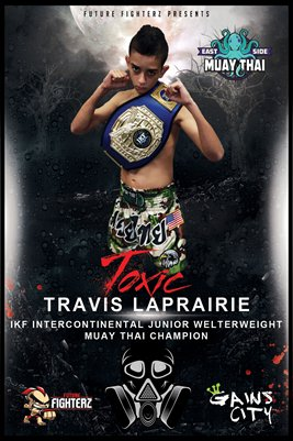 Travis LaPairie Red Toxic - Poster