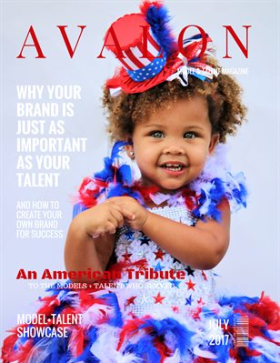 Avalon Model + Talent Magazine | July 2017