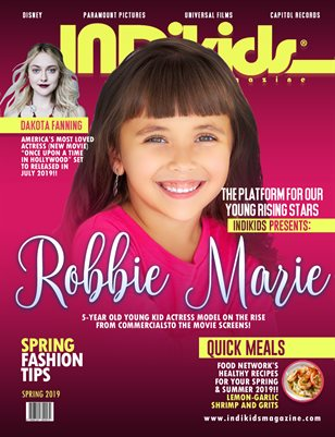 INDIKIDS 2019 SPRING ISSUE ROBBIE COVER